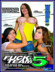 Fuck Team Five Dvd