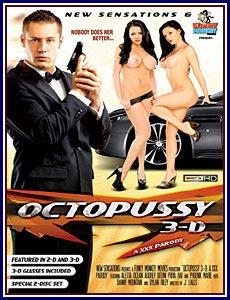 Octopussy 3D: A XXX Parody Porn DVD
