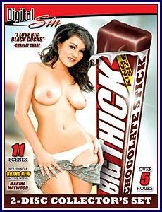 Big Thick Chocolate Stick Porn DVD