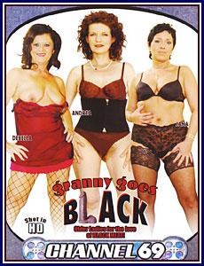 Granny Goes Black Porn DVD