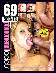 69 Scenes Phenomenal Facials Porn DVD