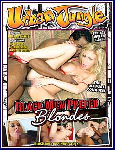 Black Men Prefer Blondes Porn DVD