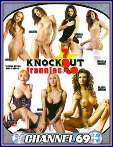 7 Knockout Trannies Porn DVD