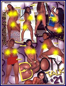 Booty Talk 21 Porn DVD