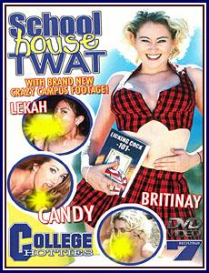 College Hotties - School House Twat Porn DVD
