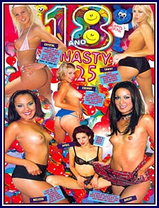 18 and Nasty 25 Porn DVD