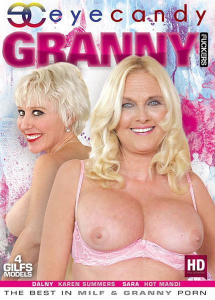 Granny Fuckers Box Cover Art.