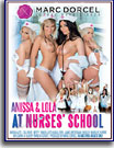 Anissa and Lola at Nurses' School