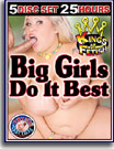 Big Girls Do It Best 25 Hours 5-Pack