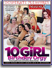 10 Girl Birthday Orgy