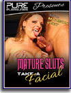 Mature Sluts Take A Facial