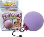 Pulsabath Vibrating Bath Sponge - Purple