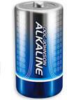 DJ 2 C Alkaline Batteries