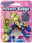 Bachelorette Party Pecker Badge