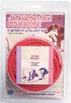 Japanese Silk Love Rope 5m Red