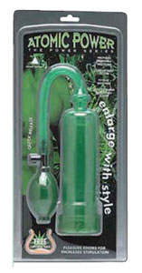 Atomic Power Pump W/Grip- Green