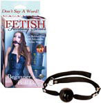 Fetish Fantasy Beginner's Ball Gag - Black