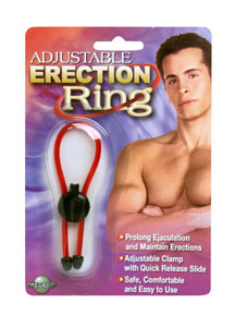 Adjustable Erection Ring - Red