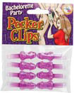 Bachelorette Party Pecker Clips 8 Pc.