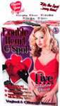 Jelly Double Heart G-Spot - Red