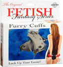 Fetish Fantasy Furry Love Cuffs - Blue