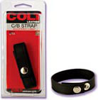 Colt Leather Cock and Ball Strap Adjustable 3 Snap