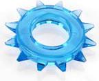 Elastomer Stud Cock Ring - Blue