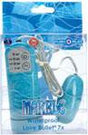 Marble Waterproof Love Bullet 7x - Turquoise