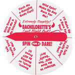 Bachelorette's Last Night Out Extremely Naughty Spinner Button