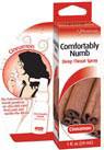 Comfortable Numb Deep Throat Spray - Cinnamon