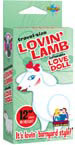 Travel Size Lovin' Lamb Blow Up Doll
