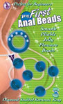 My First Anal Beads - Blue