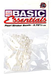 Basic Essentials Pearl Stroker Beads 2.75