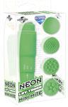 Neon Luv Touch Mini Mite Waterproof - 4 Interchangeable Heads Green