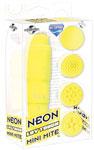 Neon Luv Touch Mini Mite Waterproof - 4 Interchangeable Heads Yellow