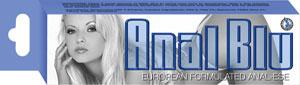 Anal Blu Lube 1.5 oz