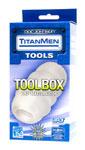 TitanMen Tool Box Clear UR3 Masturbator