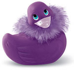 I Rub My Duckie Paris Violette w/Purple Boa