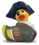 I Rub My Duckie Pirate Travel Size