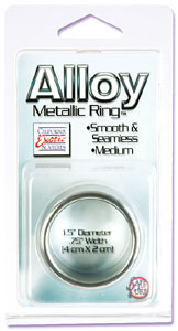 Alloy Metallic Ring Medium
