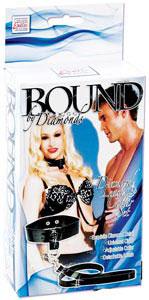 Bound by Diamonds - Diamond Leash and Collar Set