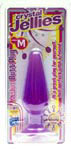 Crystal Jellies Medium Anal Plug - Purple