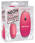 Neon Luv Touch 5 Function Bullet - Pink