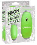 Neon Luv Touch 5 Function Bullet - Green