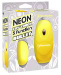 Neon Luv Touch 5 Function Bullet - Yellow