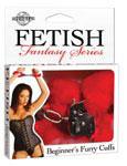 Fetish Fantasy Beginner's Furry Cuffs - Red