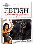 Fetish Fantasy Beginner's Furry Cuffs - Black