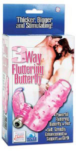 3-Way Fluttering Butterfly