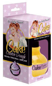 Cake Cookie Dough Kissable Personal Lubricant 8 oz