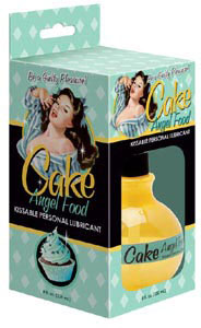 Cake Angel Food Kissable Personal Lubricant 8 oz